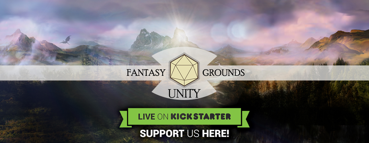 Fantasy Grounds Unity Kickstarter Promo Giveaways