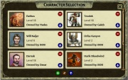 Character Selection Window