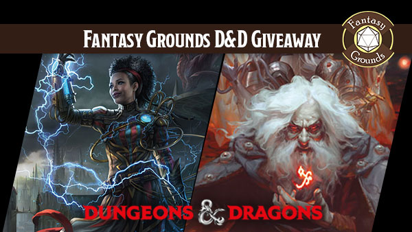 D&D Waterdeep Dungeon of the Mad Mage Giveaway for Fantasy Grounds