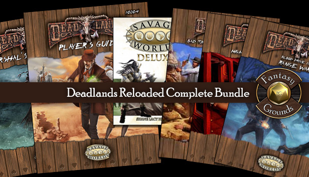 Deadlands Reloaded Bundle