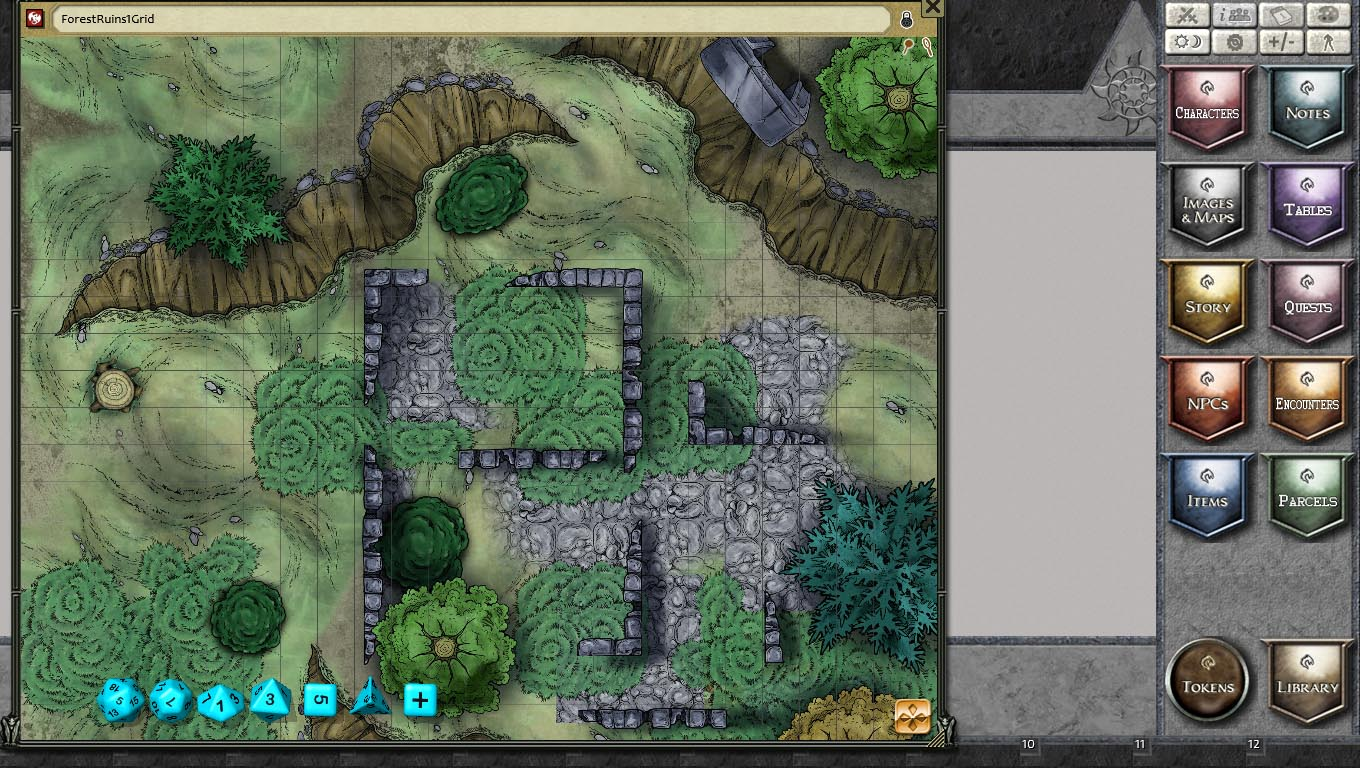 Forest Map Pack By Joshua For Fantasy Grounds
