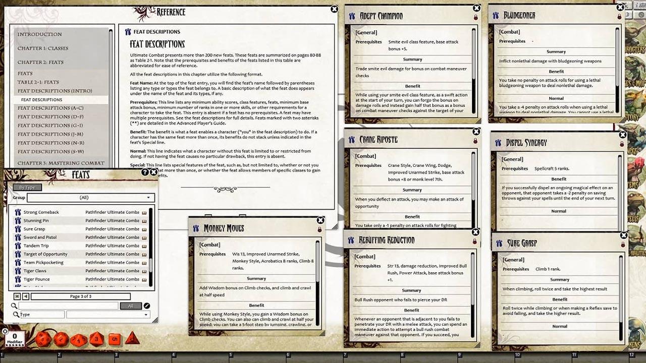 Pathfinder RPG - Ultimate Combat for Fantasy Grounds