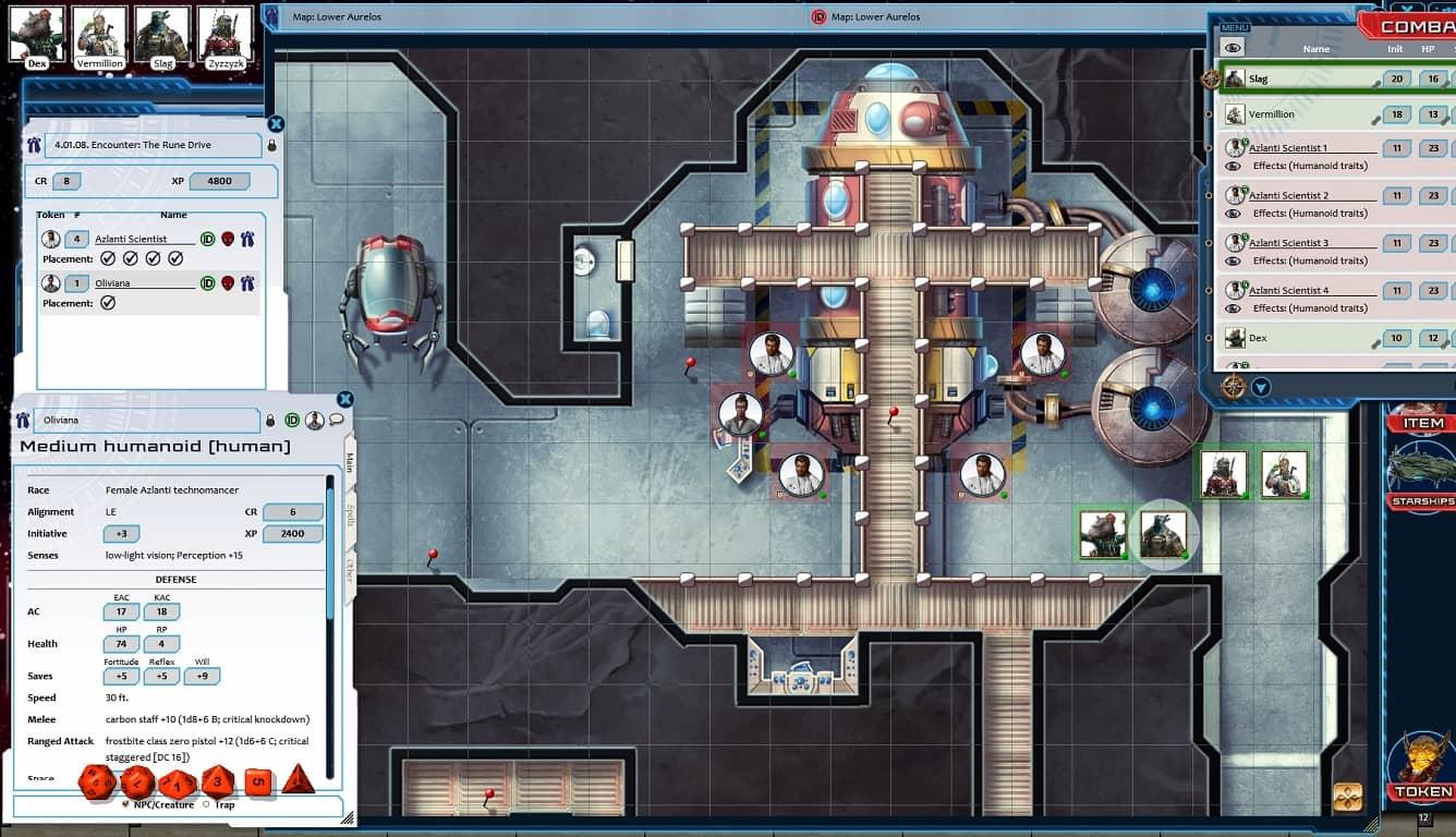 Starfinder RPG - Against the Aeon Throne AP 3: The Rune