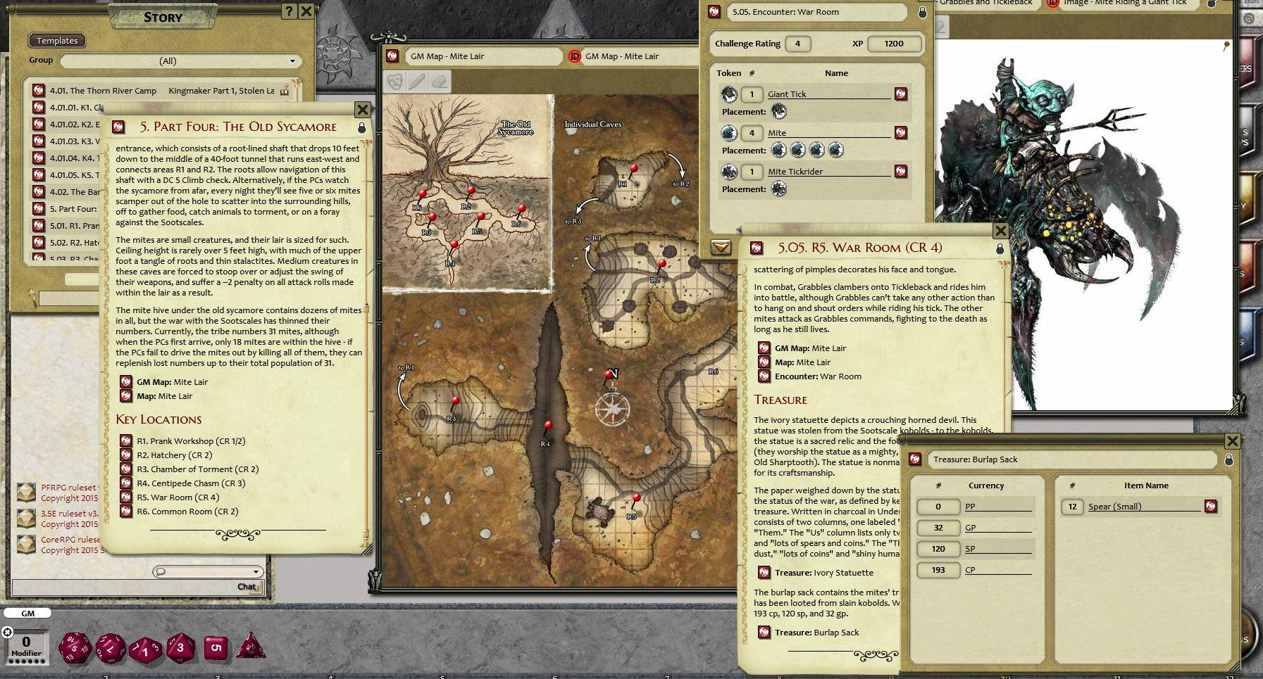 Pathfinder RPG - Kingmaker AP 1: Stolen Land for Fantasy Grounds