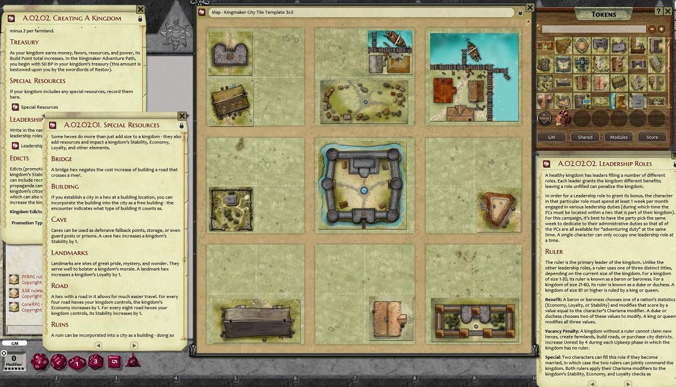Pathfinder RPG - Kingmaker AP 2: Rivers Run Red for Fantasy