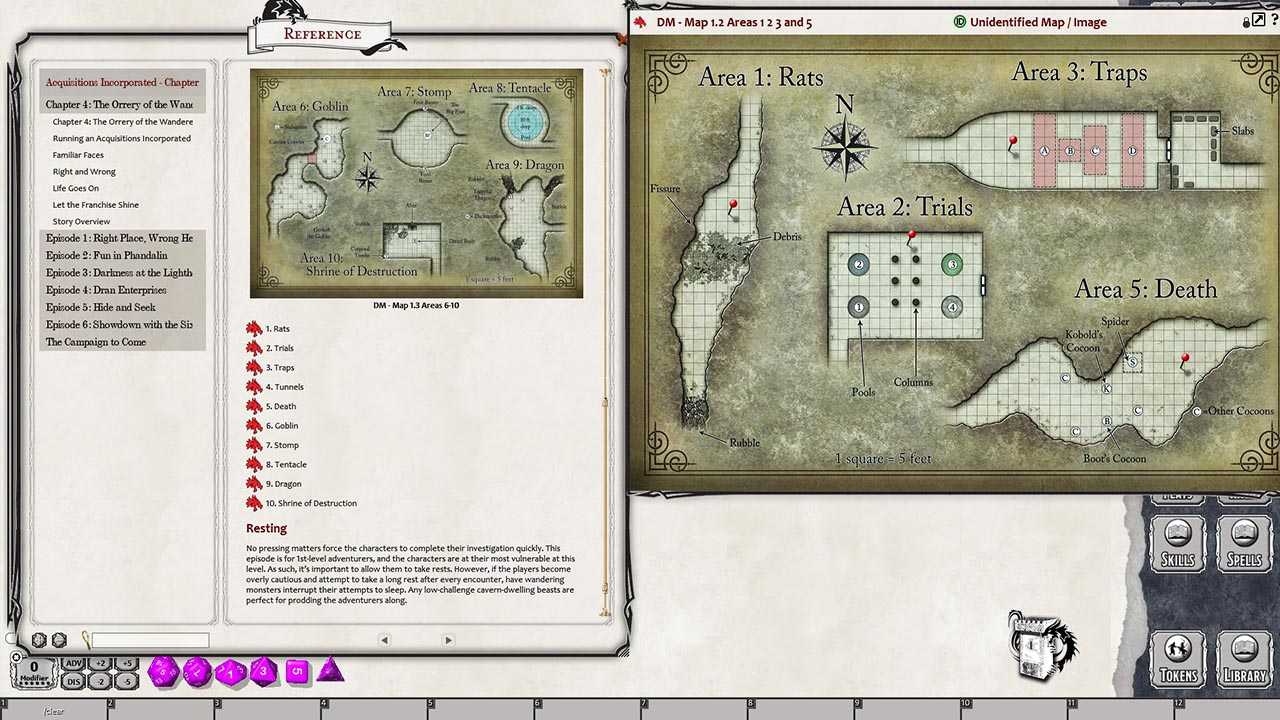 D&D Acquisitions Incorporated for Fantasy Grounds