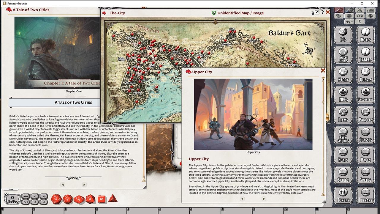 D D Baldur S Gate Descent Into Avernus For Fantasy Grounds