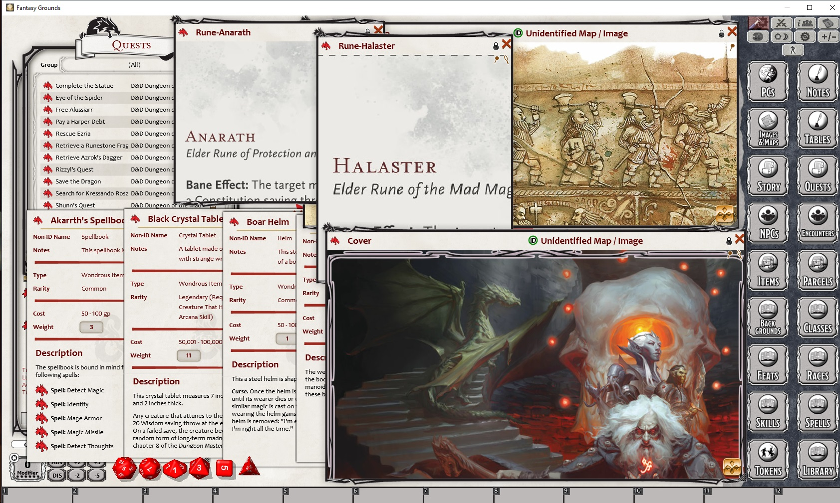 D&D Waterdeep: Dungeon of the Mad Mage for Fantasy Grounds