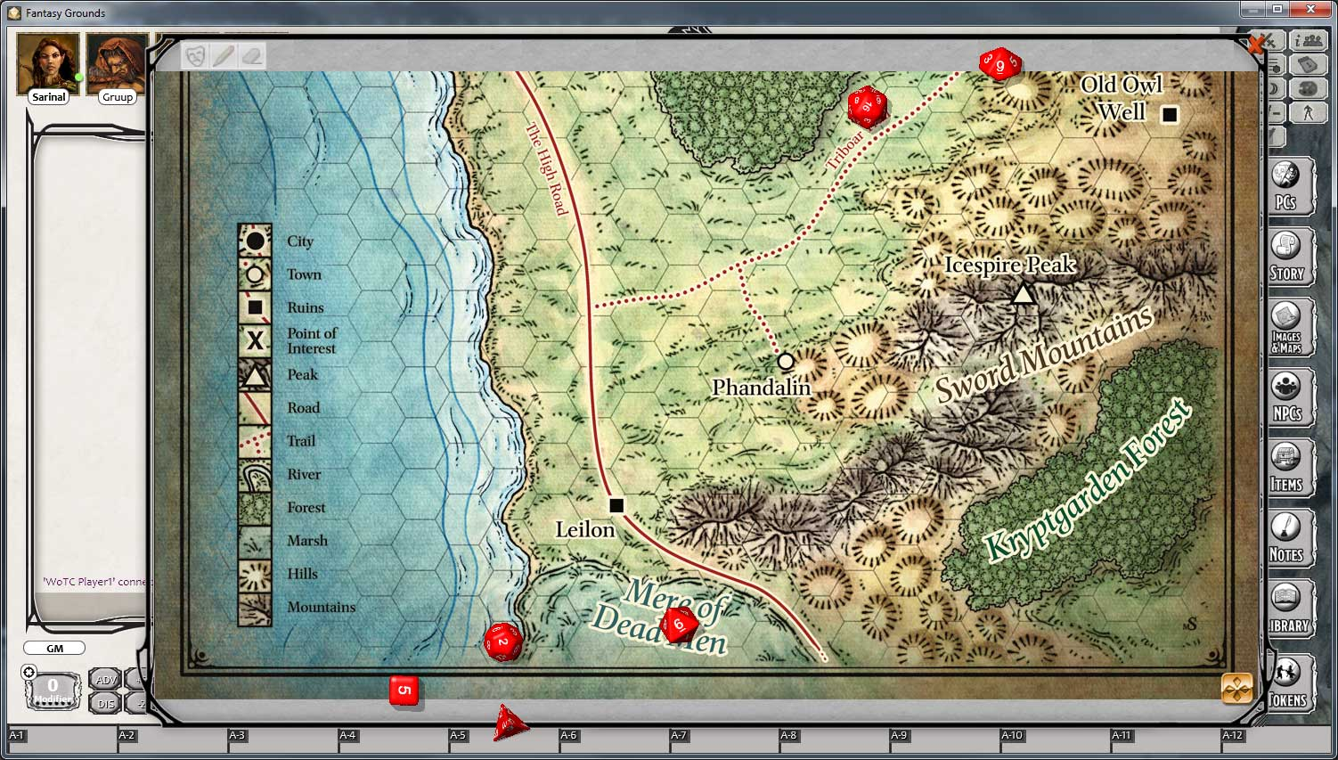 D&D Lost Mine of Phandelver for Fantasy Grounds