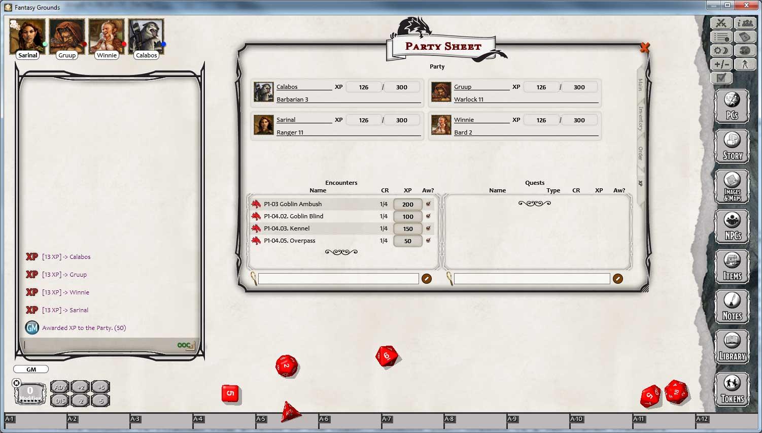 D&D Lost Mine of Phandelver for Fantasy Grounds