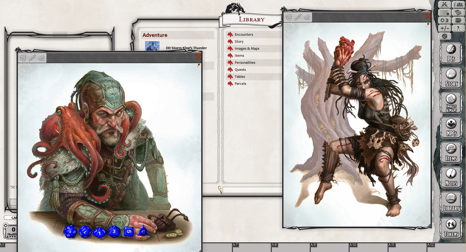 D&D Storm King's Thunder for Fantasy Grounds