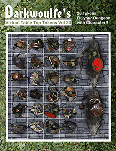Darkwoulfe's Token Pack Volume 13 for Fantasy Grounds