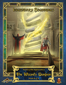 Trail Of The Apprentice The Wizard S Dungeon For Fantasy