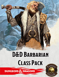 D&D Barbarian Class Pack for Fantasy Grounds