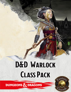 D&D Warlock Class Pack for Fantasy Grounds