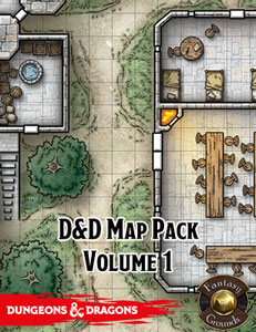 D&D Map Pack Volume 1 for Fantasy Grounds Dnd Maps on