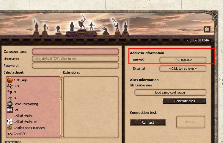How to Port Forward and Host a Game - Fantasy Grounds Wiki
