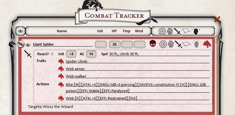 photograph about Initiative Tracker 5e Printable referred to as 5E Overcome Tracker - Myth Grounds Wiki